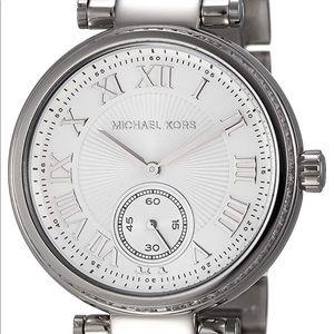 Michael Kors Silver-Tone Skylar Watch MK5866